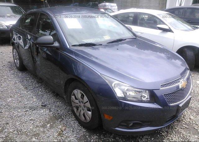 Inventory #103750144 2013 Chevrolet CRUZE