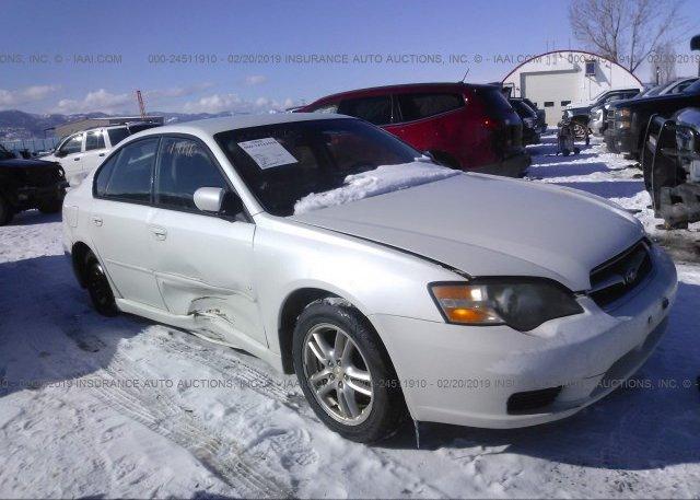 Inventory #697888299 2005 Subaru LEGACY