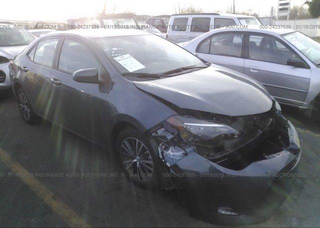 Inventory #596909235 2018 Toyota COROLLA