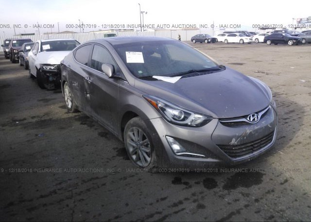Inventory #395969335 2015 Hyundai ELANTRA
