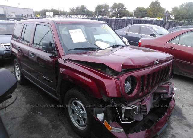 Inventory #139693642 2014 JEEP PATRIOT