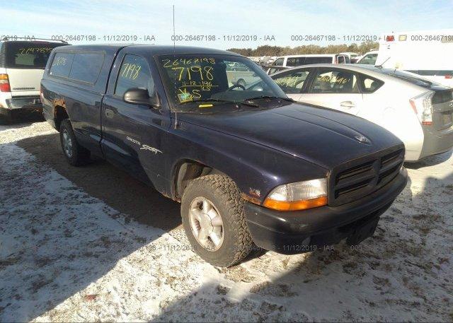 Inventory #970695736 1999 Dodge DAKOTA
