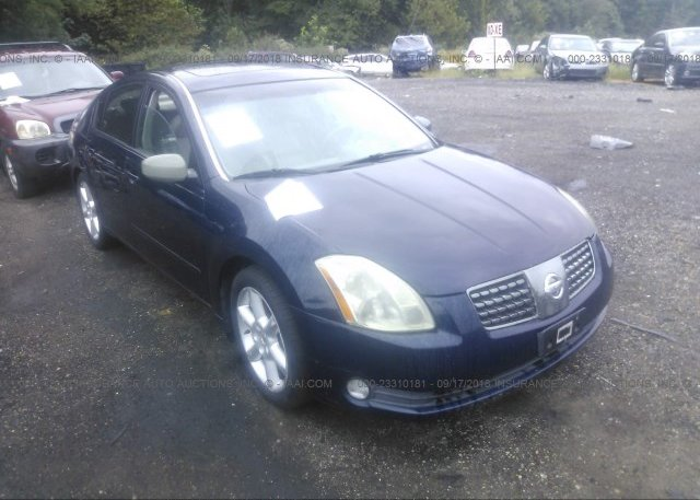 1n4ba41ex4c845083 Clear Blue Nissan Maxima At White Plains Md On