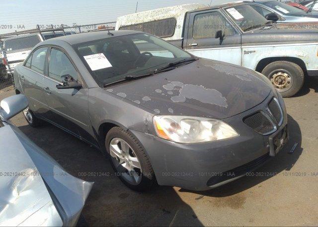 Inventory #433725286 2008 Pontiac G6