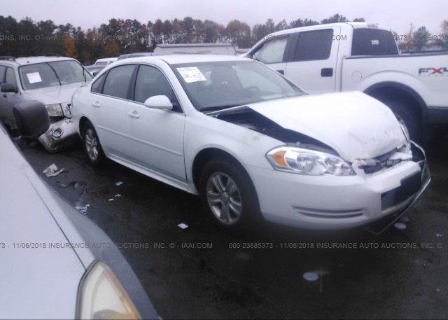 Inventory #125022203 2013 Chevrolet IMPALA
