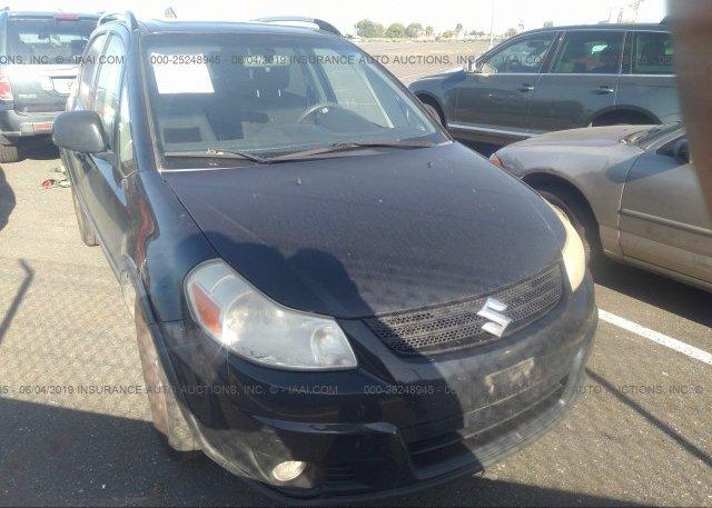 JS2YB417075101896, Clear - Dealer Only black Suzuki Sx4 at FREMONT