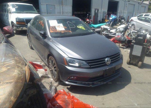 Inventory #309370870 2016 Volkswagen JETTA
