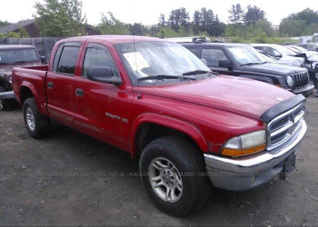 Inventory #111751052 2002 Dodge DAKOTA