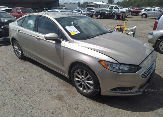 Inventory #773268368 2017 FORD FUSION