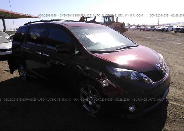 Inventory #404746353 2013 Toyota SIENNA