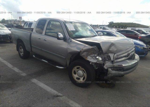 Inventory #390107068 2005 Toyota TUNDRA