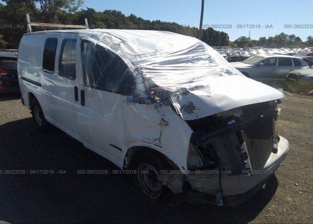 Inventory #444099495 2002 Chevrolet EXPRESS G1500
