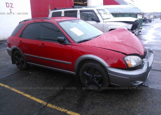 Inventory #372383809 2005 Subaru IMPREZA
