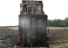 2011 CASE MRE 635 COTTON PICKER - 4RT016865 front view