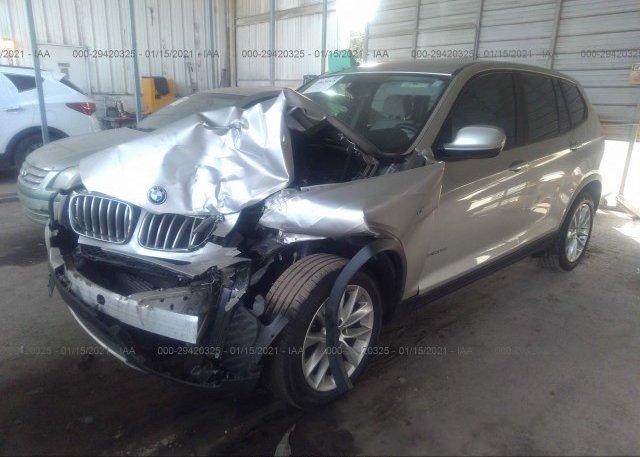 из сша 2014 BMW X3 5UXWX9C54E0D38608
