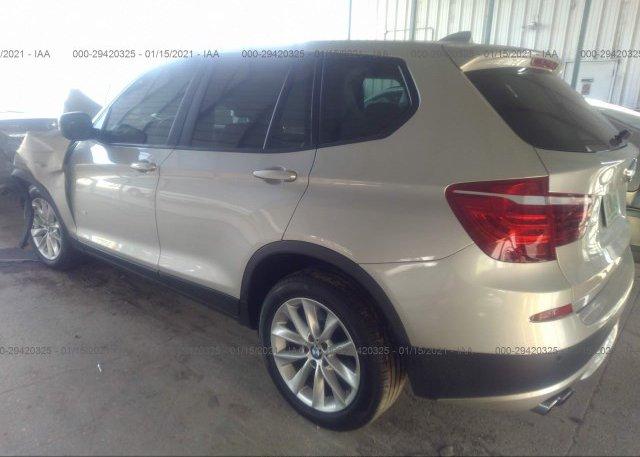 купить 2014 BMW X3 5UXWX9C54E0D38608