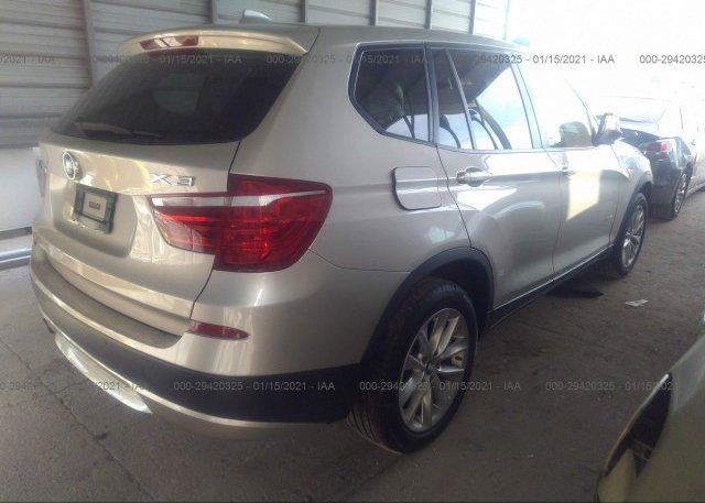 цена в сша 2014 BMW X3 5UXWX9C54E0D38608