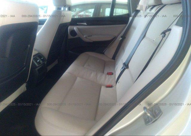 5UXWX9C54E0D38608 2014 BMW X3