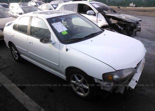 Inventory #680152968 2002 Nissan SENTRA