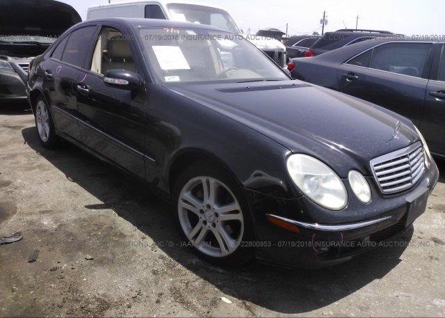 Inventory #725424155 2006 Mercedes-benz E