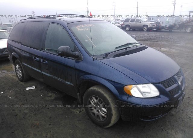 Inventory #555810023 2002 Dodge GRAND CARAVAN