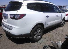 2016 Chevrolet TRAVERSE - 1GNKRGKD2GJ131126 rear view