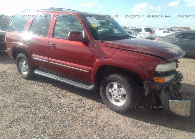 Inventory #696300640 2003 Chevrolet TAHOE