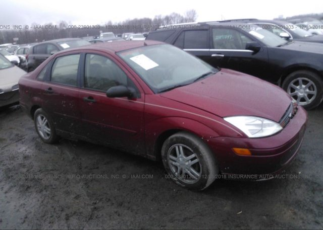 Inventory #509745964 2002 FORD FOCUS