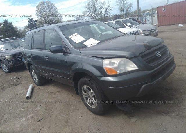 Inventory #536502511 2003 Honda PILOT