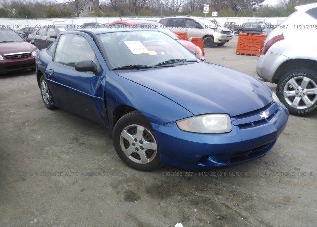 Inventory #671433589 2003 Chevrolet CAVALIER
