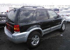 2007 FORD ESCAPE - 1FMCU59H77KA15936 rear view