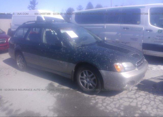 Inventory #547610903 2002 Subaru LEGACY