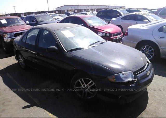 Inventory #374268025 2004 Chevrolet CAVALIER