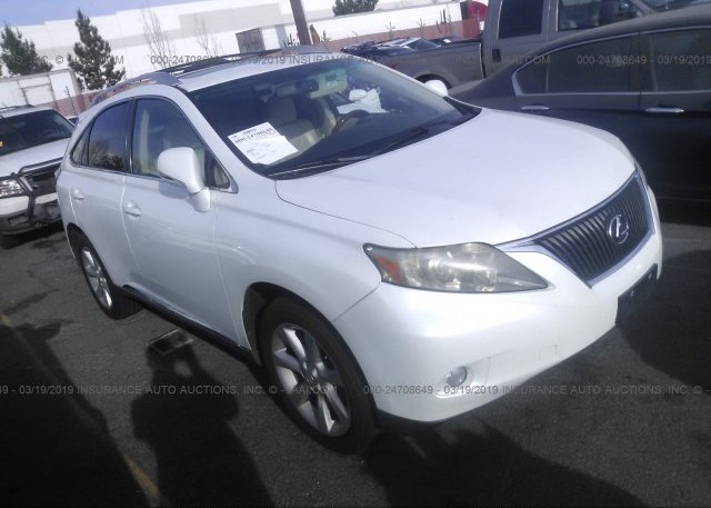 Inventory #953726584 2010 Lexus RX