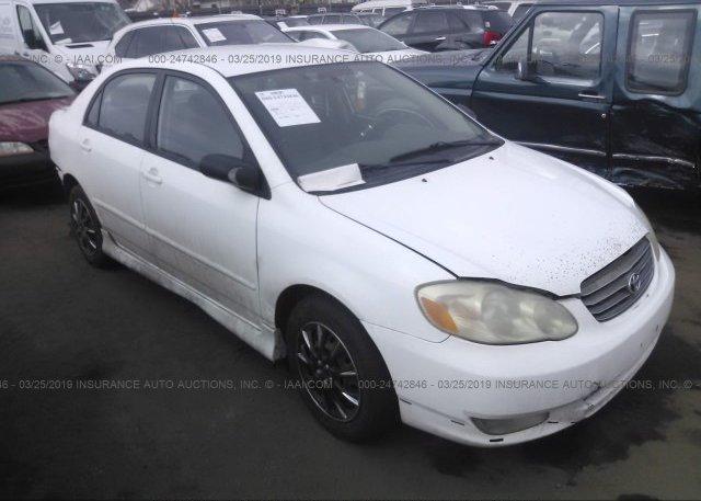Inventory #324924006 2004 Toyota COROLLA