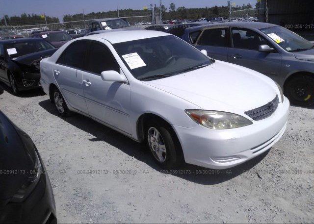 Inventory #313336880 2002 Toyota CAMRY