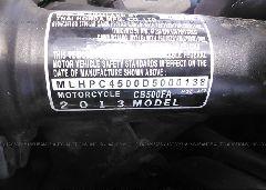 2013 Honda CB500 - MLHPC4500D5000138