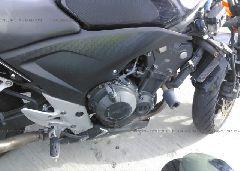2013 Honda CB500 - MLHPC4500D5000138 front view