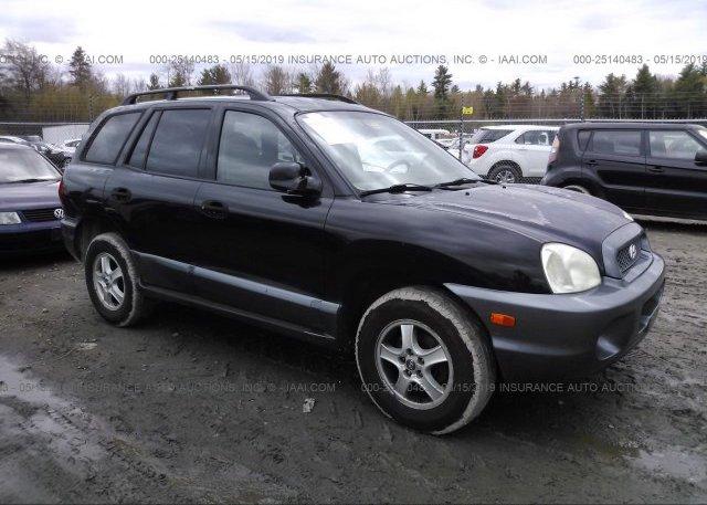 Inventory #846214833 2004 Hyundai SANTA FE