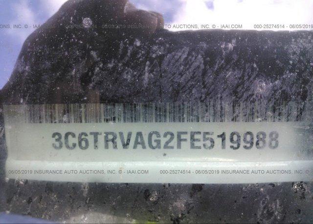 2015 RAM PROMASTER 1500 - 3C6TRVAG2FE519988