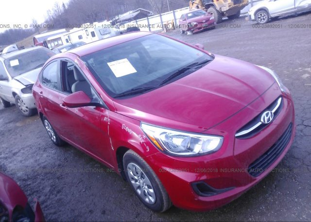 Inventory #440625787 2017 HYUNDAI ACCENT