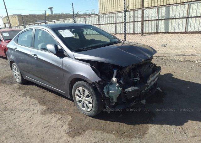 Inventory #972788806 2016 Hyundai ACCENT