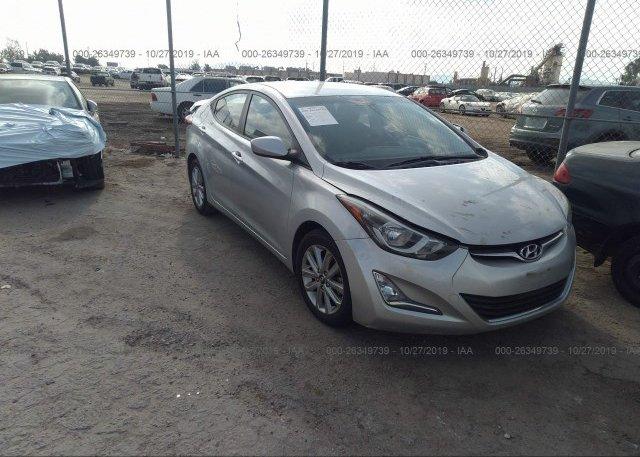 Inventory #819847652 2015 Hyundai ELANTRA