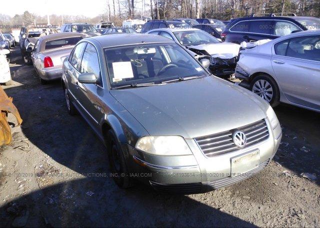 Inventory #625736982 2003 Volkswagen PASSAT