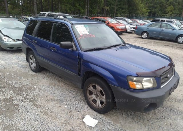 Inventory #140524087 2004 Subaru FORESTER