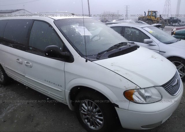 2c8gp64l61r356878 Clear White Chrysler Town Country At