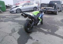 2007 Kawasaki ZX600 - JKAZX4P137A013073 rear view
