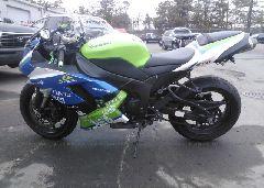 2007 Kawasaki ZX600 - JKAZX4P137A013073 engine view
