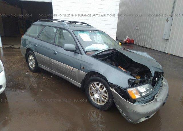 Inventory #434237654 2001 Subaru LEGACY