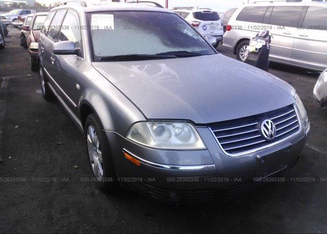 Inventory #926283552 2002 Volkswagen PASSAT